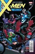 X-Men Blue Vol 1 28