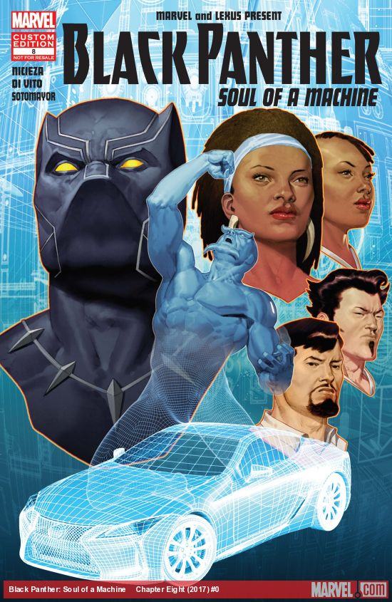 Black Panther: Soul of a Machine Vol 1 8