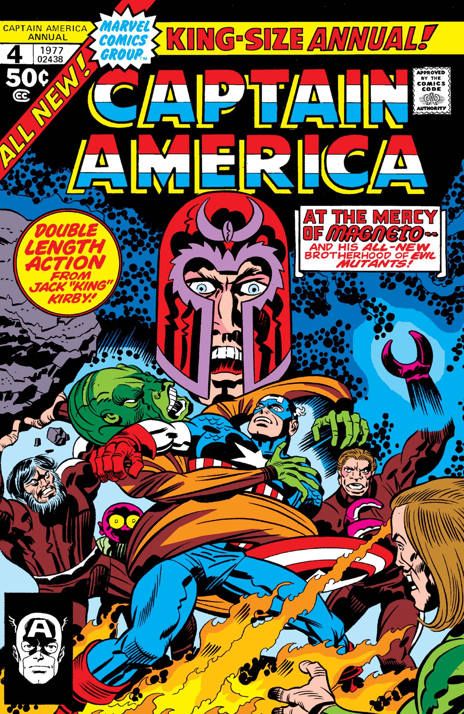 Captain America Annual Vol 1 4