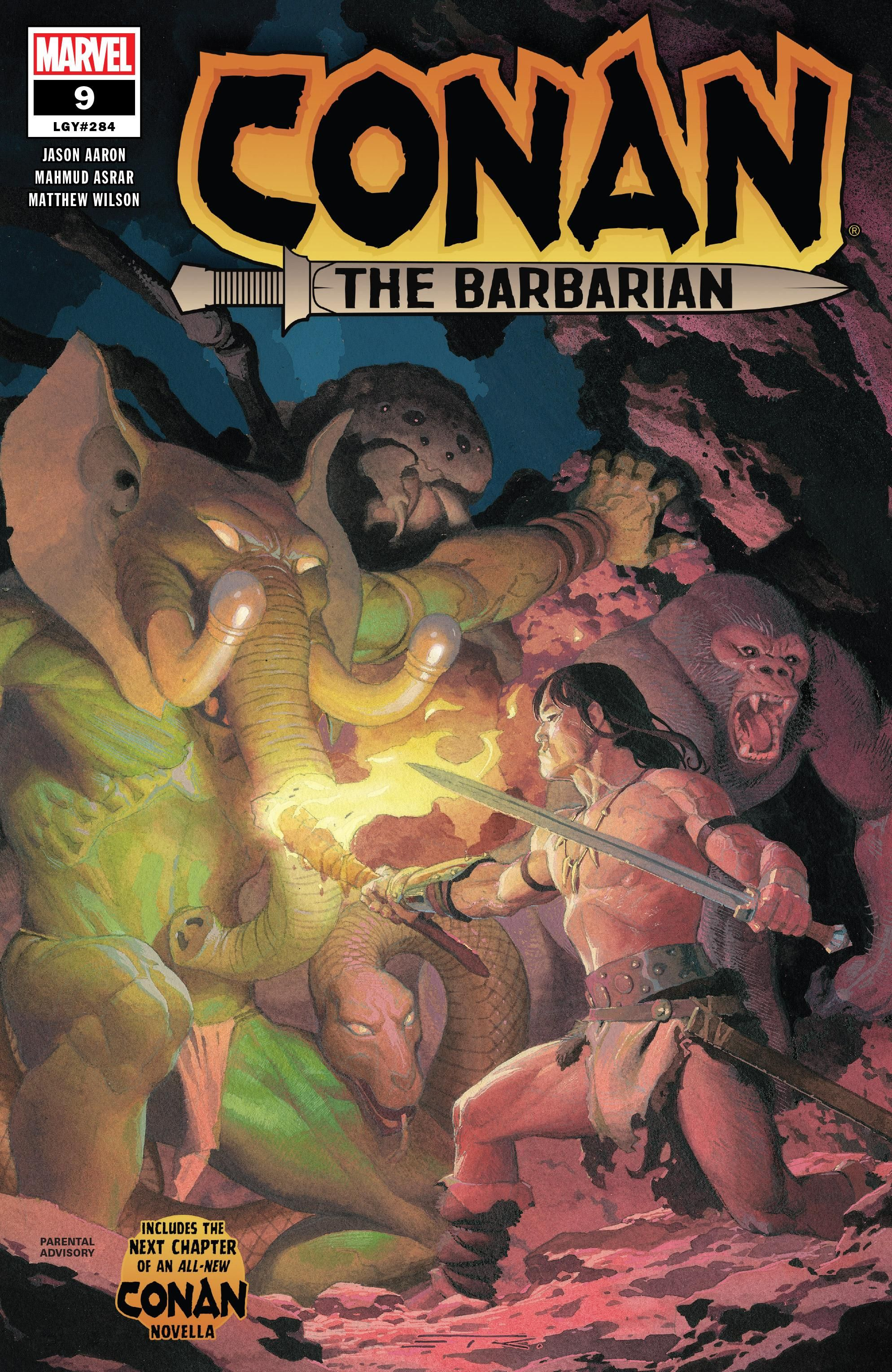 Conan the Barbarian Vol 3 9