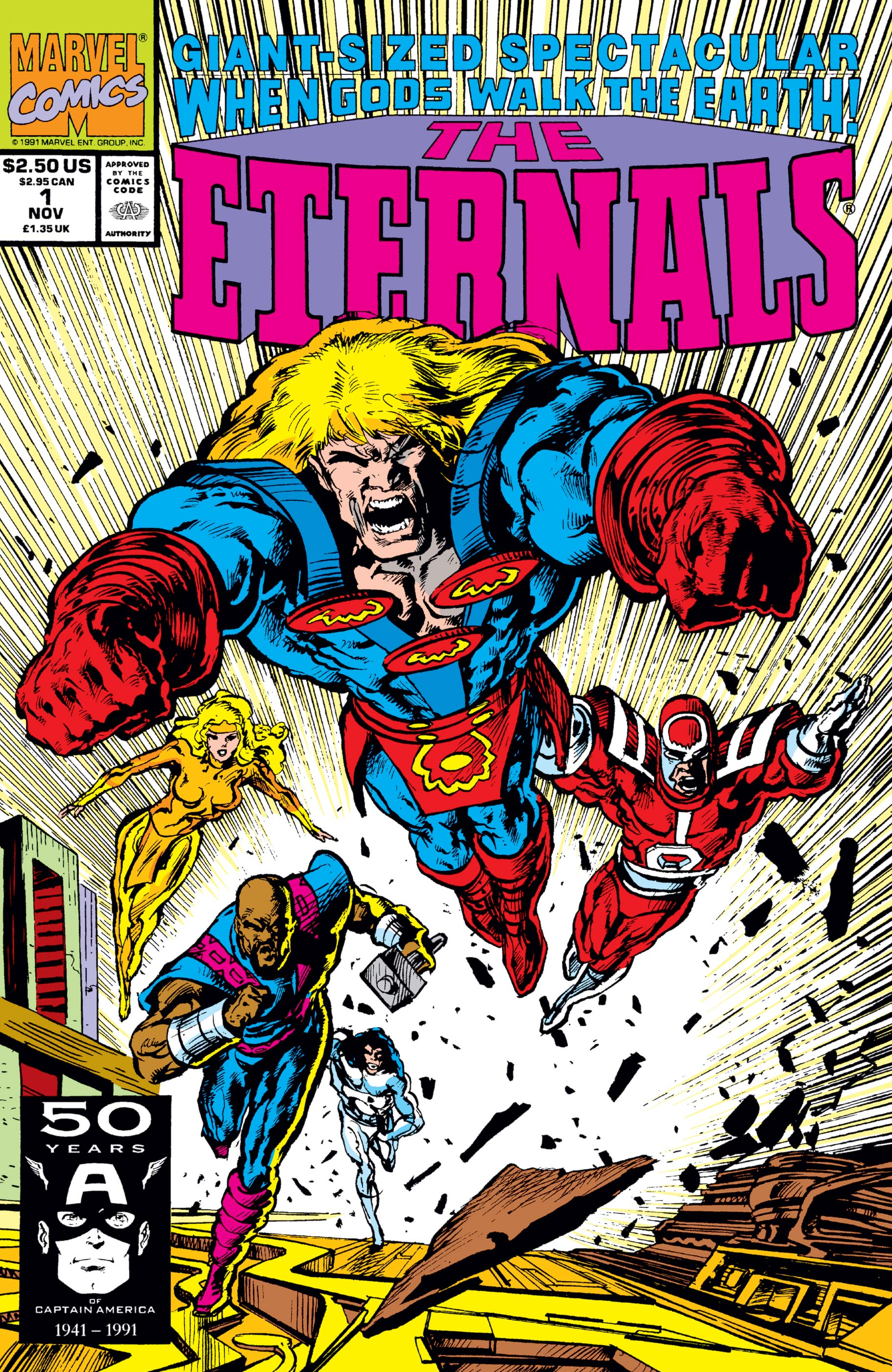 Eternals: The Herod Factor Vol 1 1