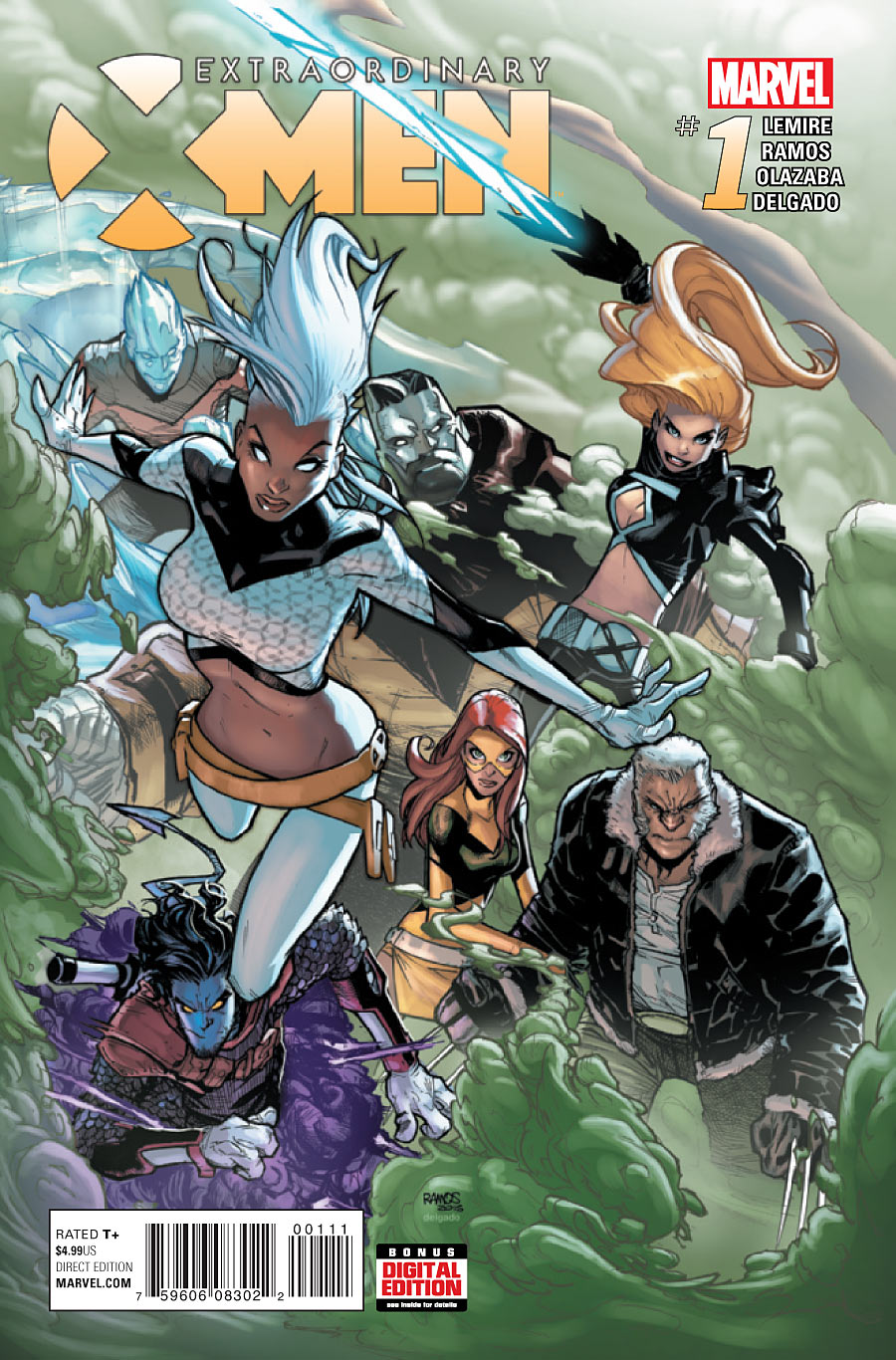 Extraordinary X-Men Vol 1 1