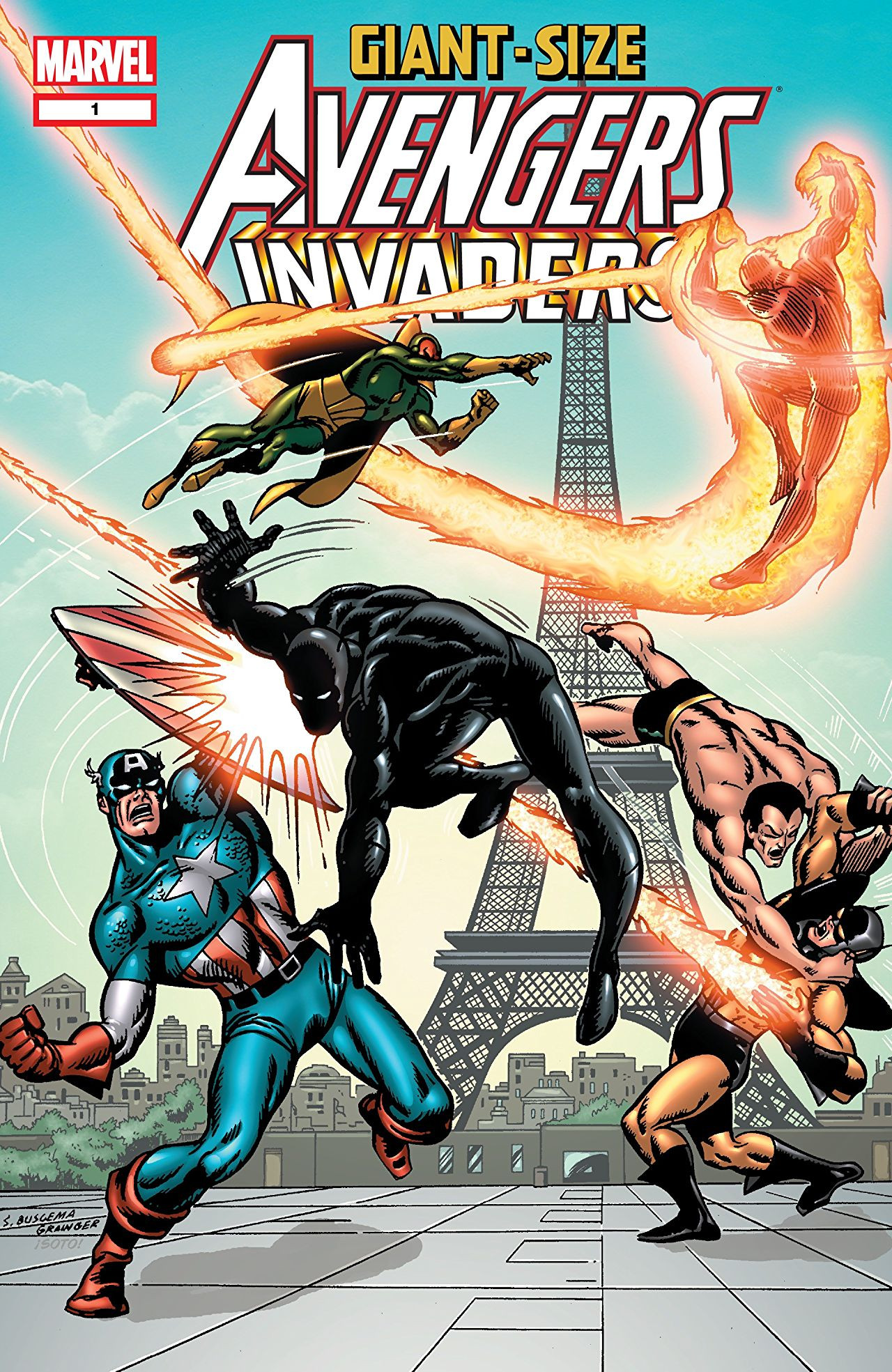 Giant-Size Avengers / Invaders Vol 1 1