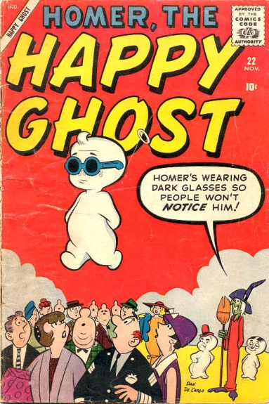 Homer, the Happy Ghost Vol 1 22