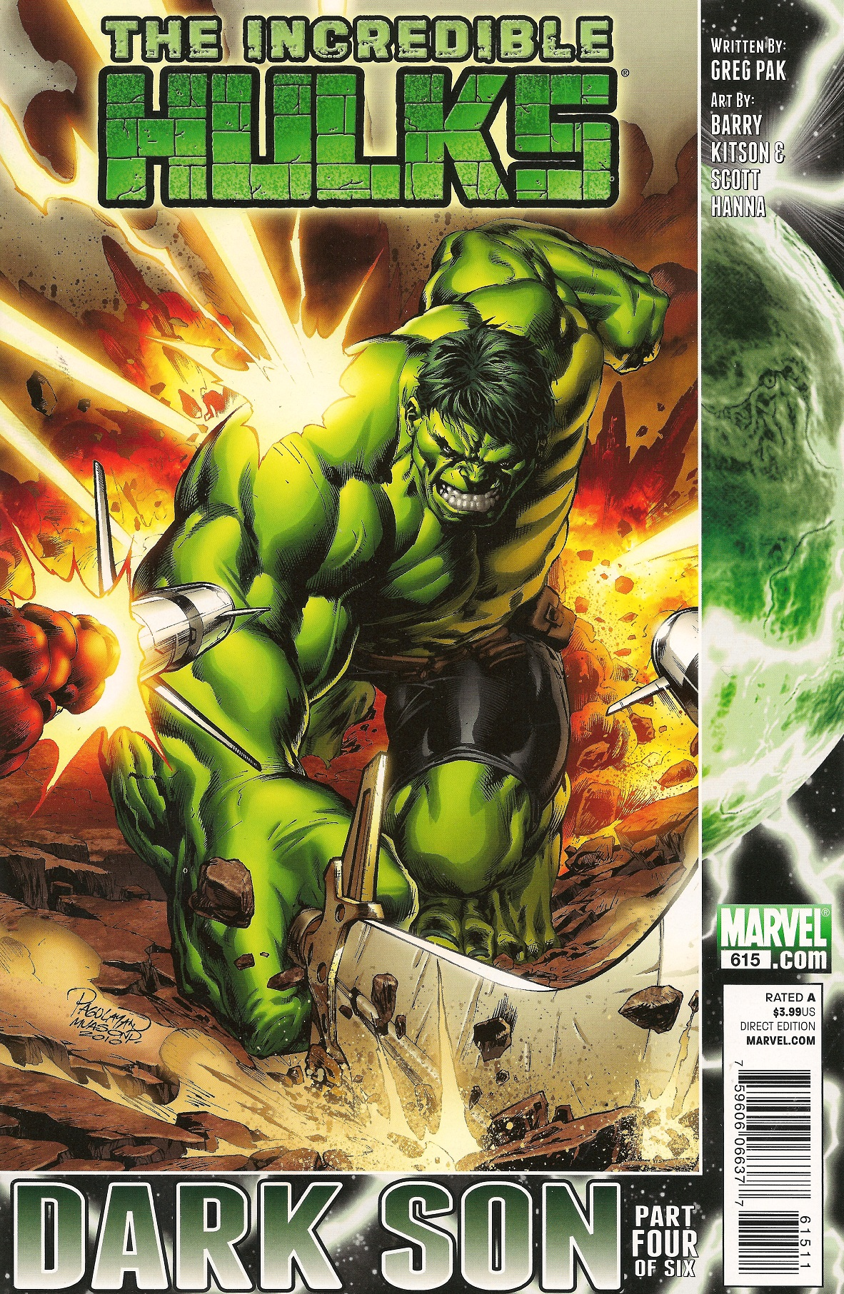 Incredible Hulks Vol 1 615