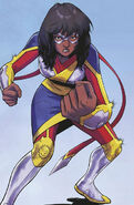 Kamala Khan (Earth-616) from Magnificent Ms. Marvel Vol 1 5 Second Printing cover