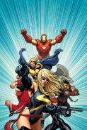 Mighty Avengers Vol 1 1 Textless