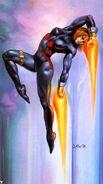 Natalia Romanova (Earth-616) from Marvel Masterpieces (Trading Cards) 1996