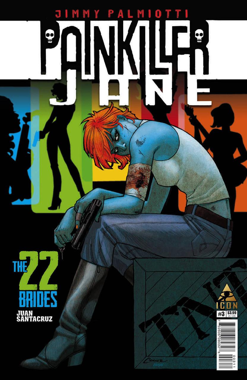 Painkiller Jane: The 22 Brides Vol 1 3