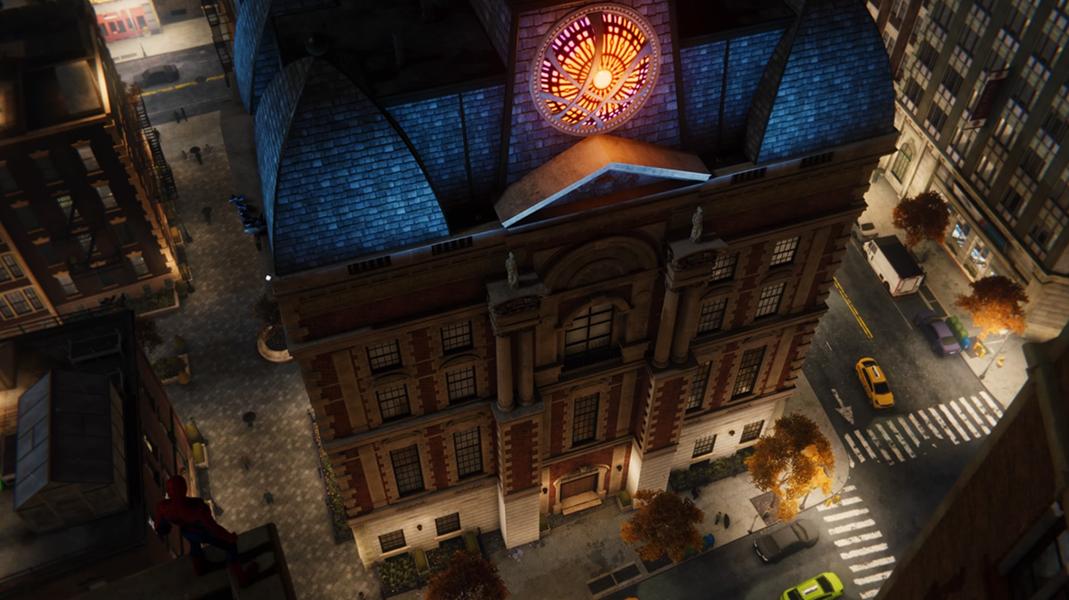 Sanctum Sanctorum on Marvel's Spider-Man (video game) (Earth-1048).png