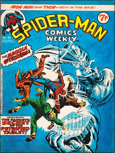 Spider-Man Comics Weekly Vol 1 89
