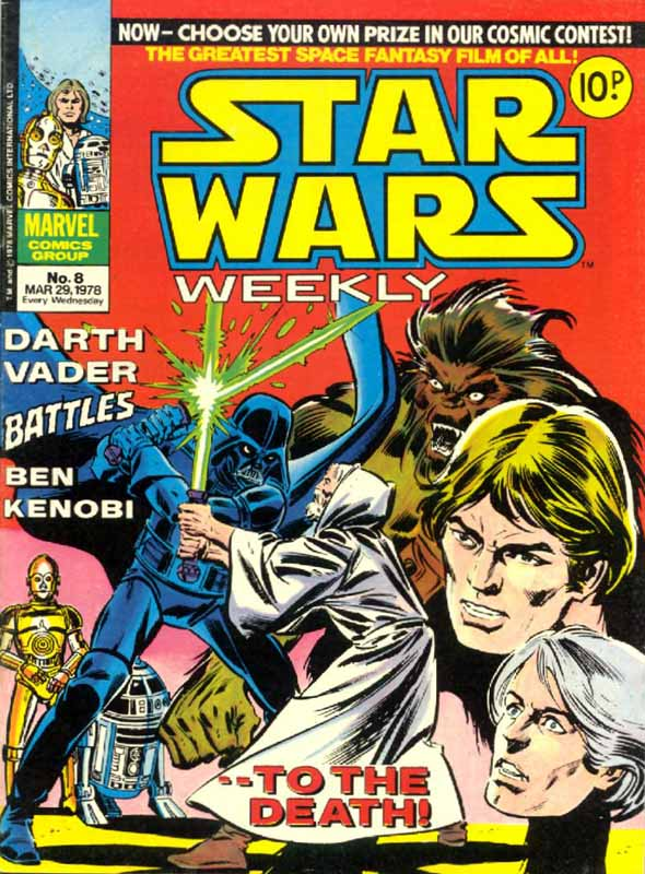 Star Wars Weekly (UK) Vol 1 8