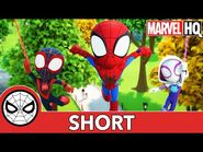 The Spidey Team - Marvel's Spidey and His Amazing Friends - @Disney Junior @Marvel HQ