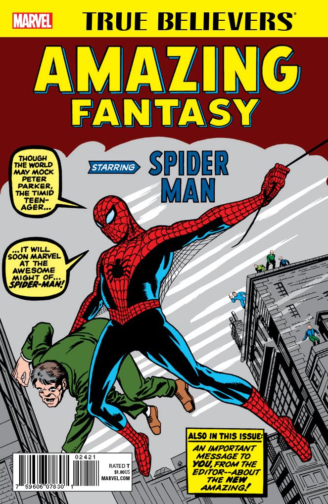True Believers: Amazing Fantasy Starring Spider-Man Vol 1 1