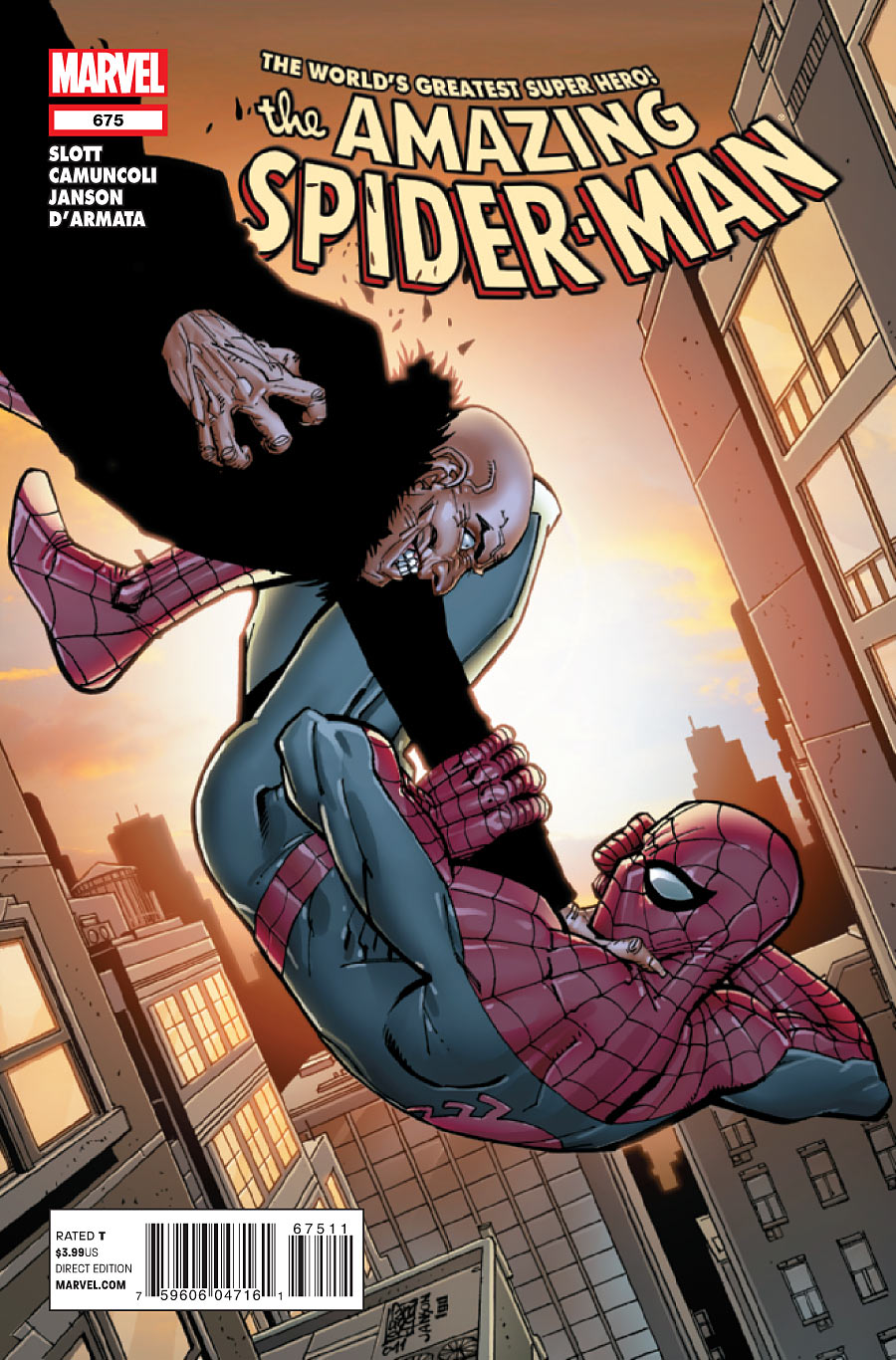 Amazing Spider-Man Vol 1 675