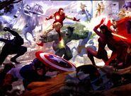 Avengers (Earth-616) from Mythos Captain America Vol 1 1 001