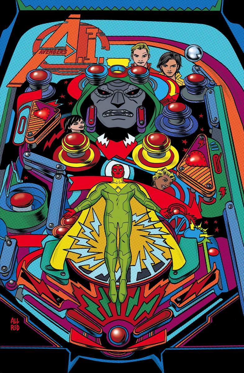 Avengers A.I. Vol 1 3 Allred Variant Textless.jpg