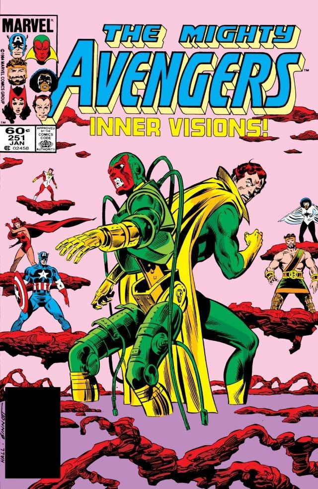 Avengers Vol 1 251