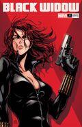 Black Widow Vol 8 2 Okazaki Variant