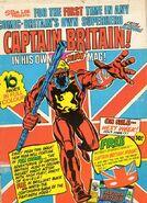 Brian Braddock (Earth-616) from Captain Britain Vol 1 Promo 0001