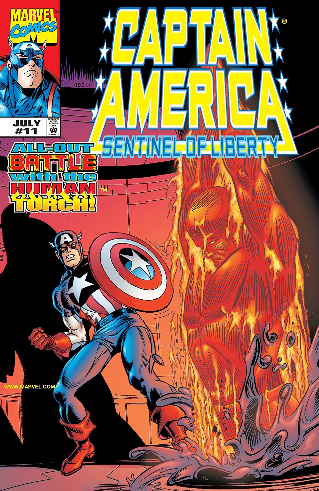 Captain America: Sentinel of Liberty Vol 1 11