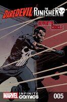 Daredevil Punisher Seventh Circle Infinite Comic Vol 1 5