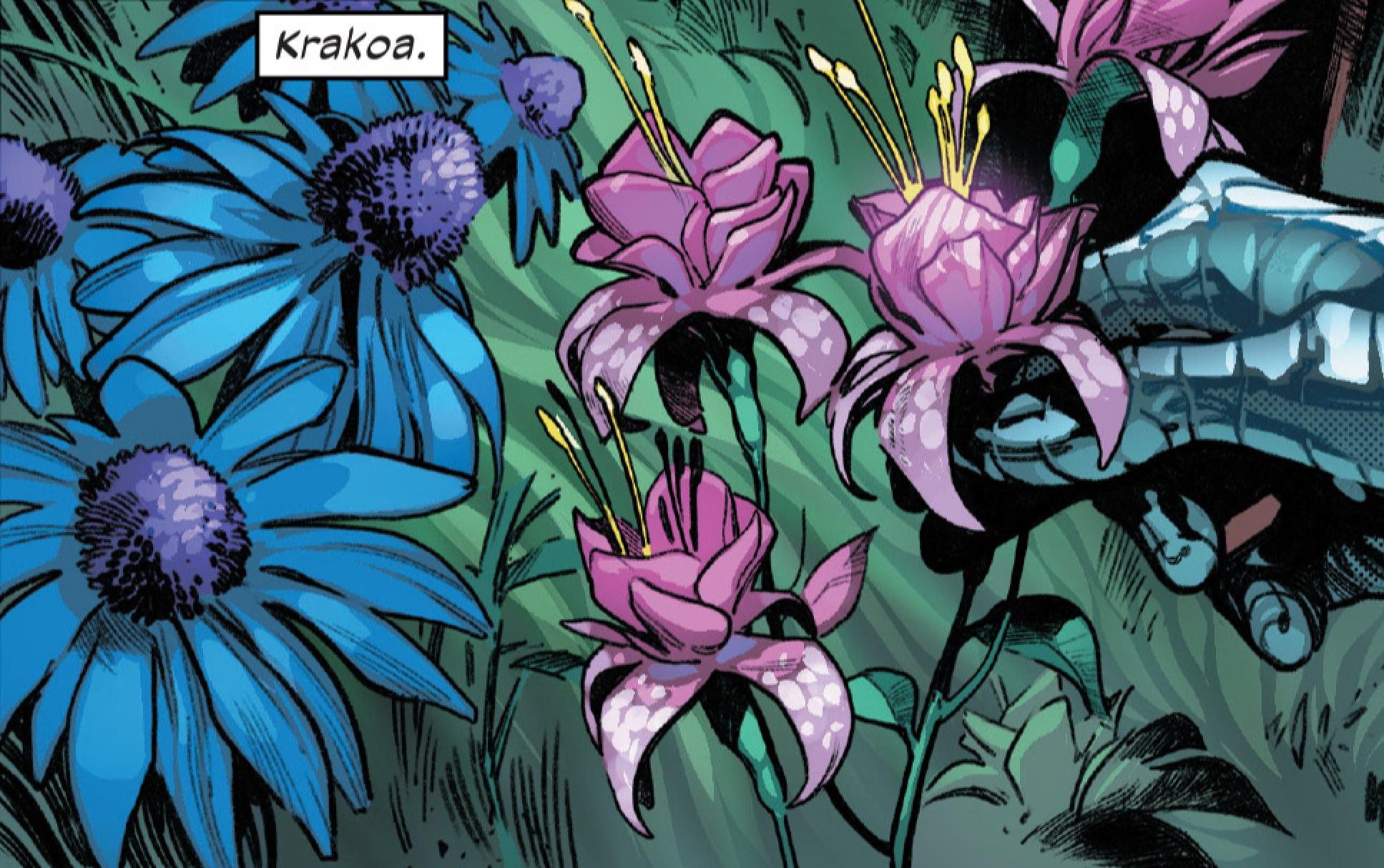 Flowers of Krakoa