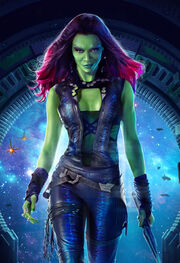 Gamora (Earth-199999) from Guardians of the Galaxy (film) poster 002.jpg