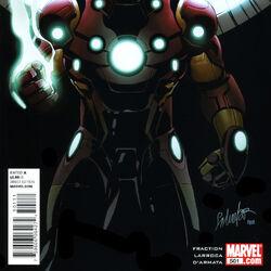 Invincible Iron Man Vol 1 501