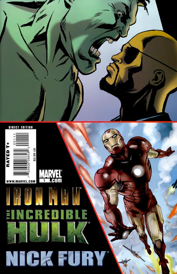 Iron Man/Hulk/Fury Vol 1 1