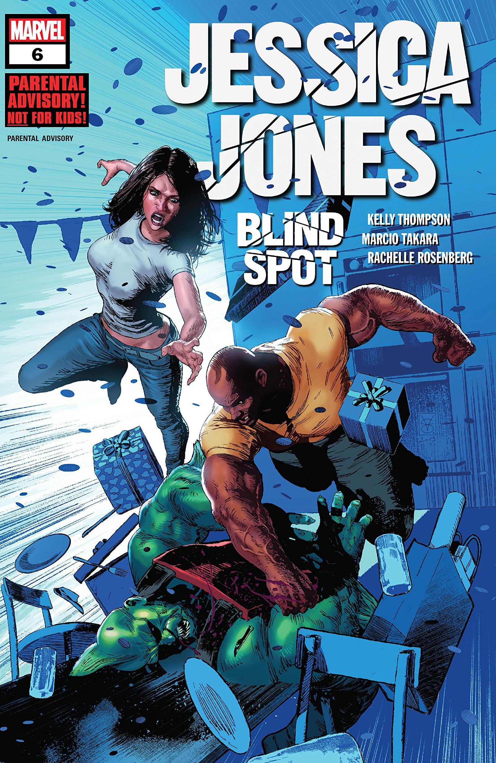 Jessica Jones: Blind Spot Vol 1 6