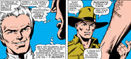 Max Eisenhardt (Earth-616) and Charles Xavier (Earth-616) from Uncanny X-Men Vol 1 161 001