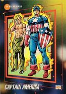 Steven Rogers (Earth-616) from Marvel Universe Cards Series III 0002