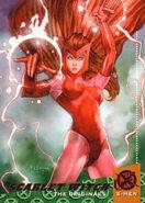 Wanda Maximoff (Earth-616) from 1994 Ultra X-Men (Trading Cards) set 001