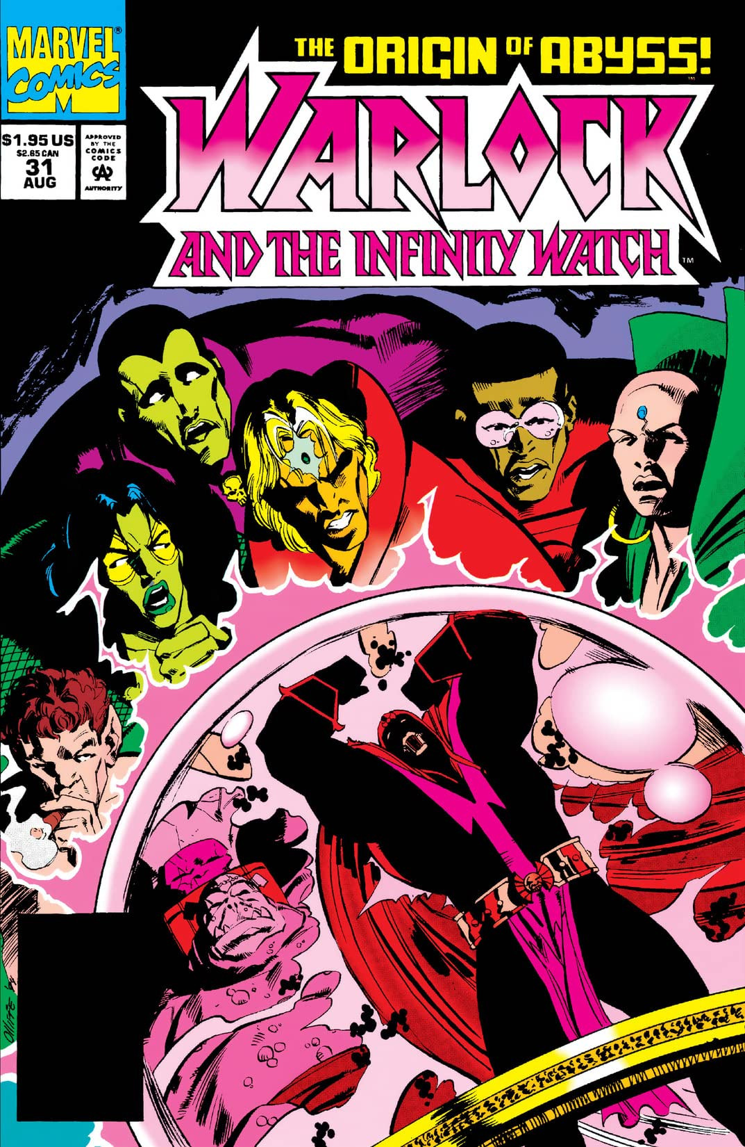 Warlock and the Infinity Watch Vol 1 31