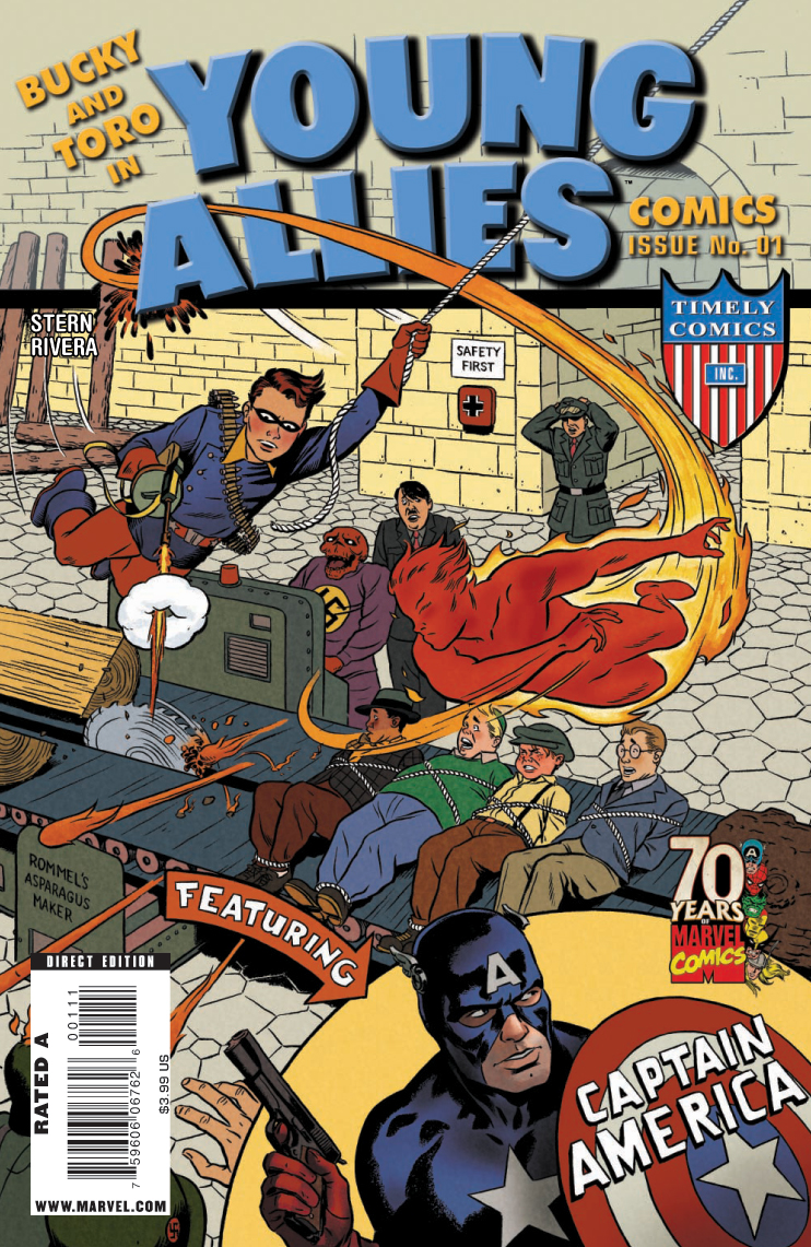 Young Allies Comics 70th Anniversary Special Vol 1 1