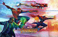 Avengers Infinity War Fandango poster 002