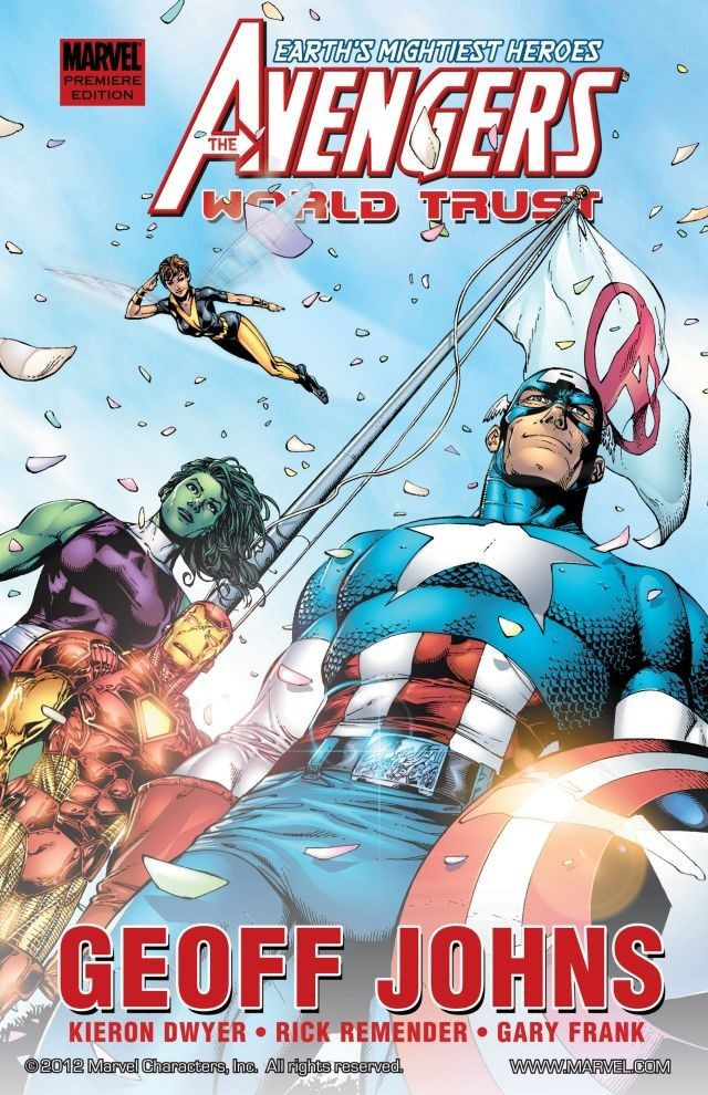 Avengers: World Trust TPB Vol 1 1
