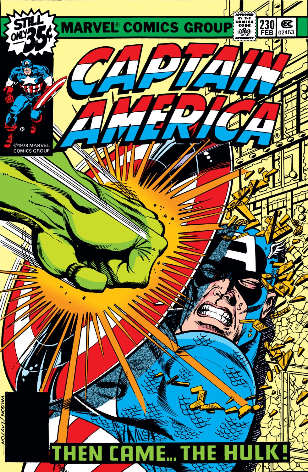 Captain America Vol 1 230