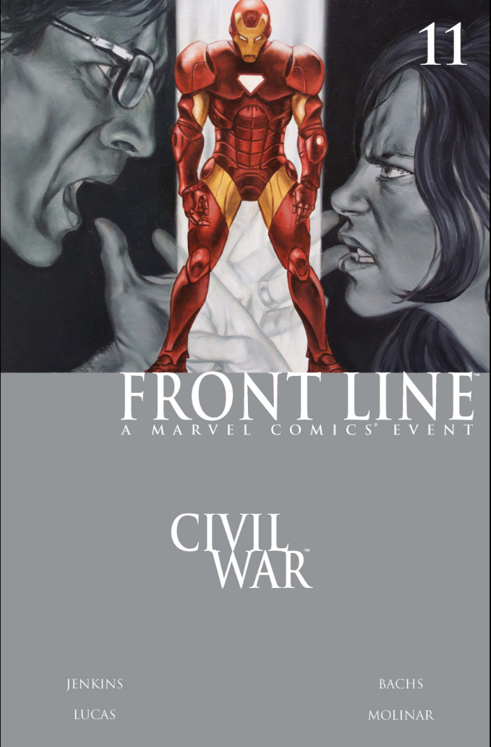 Civil War: Front Line Vol 1 11