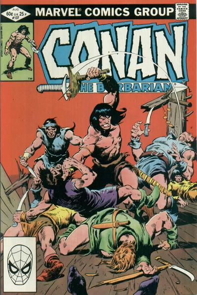 Conan the Barbarian Vol 1 137