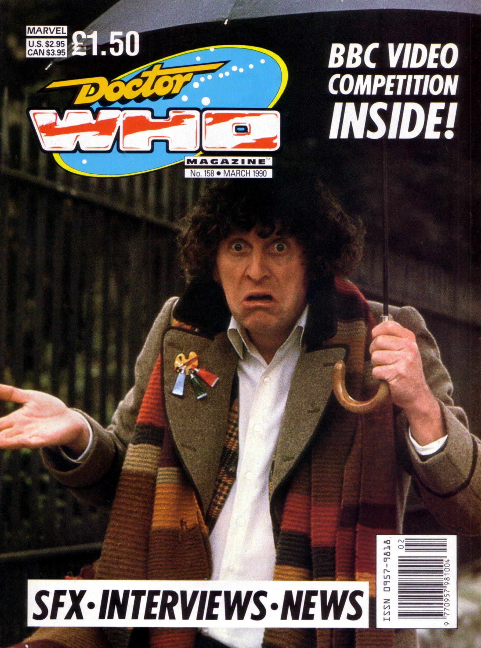 Doctor Who Magazine Vol 1 158