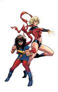 Generations Ms. Marvel & Ms. Marvel Vol 1 1 Coipel Variant Textless
