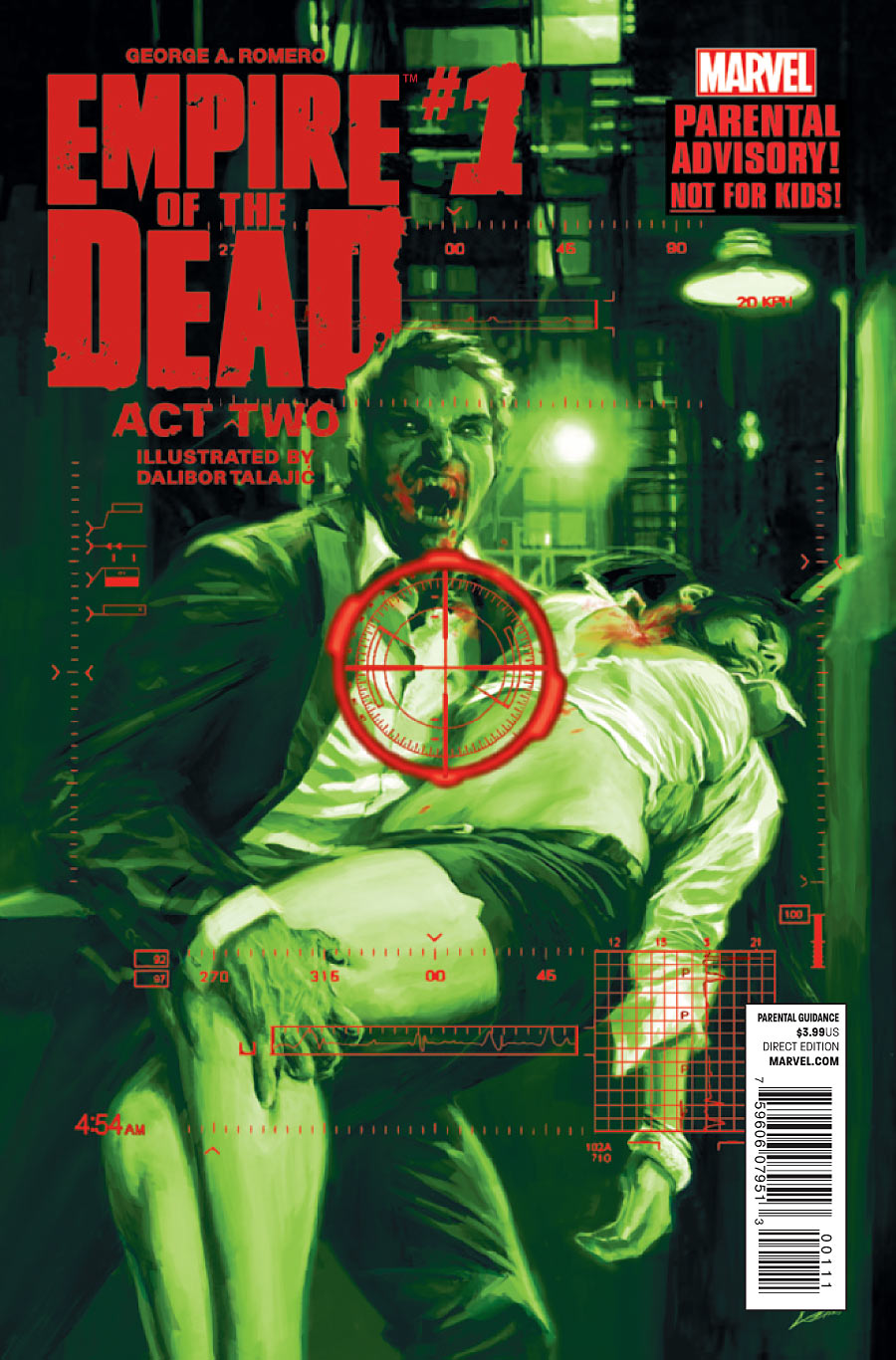 George Romero's Empire of the Dead: Act Two Vol 1 1