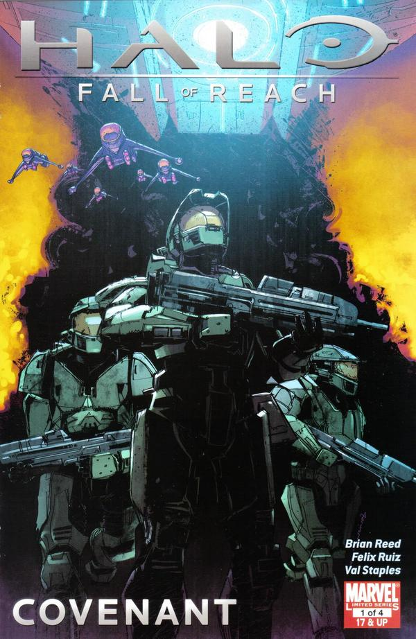 Halo: Fall of Reach - Covenant Vol 1 1