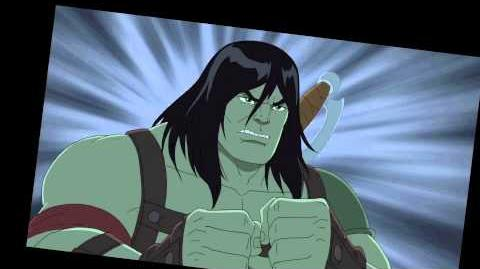"""Marvel's_Hulk_and_the_Agents_of_S.M.A.S.H._Season_One_Episode_12_""""The_Skaar_Whisperer""""_Clip"""