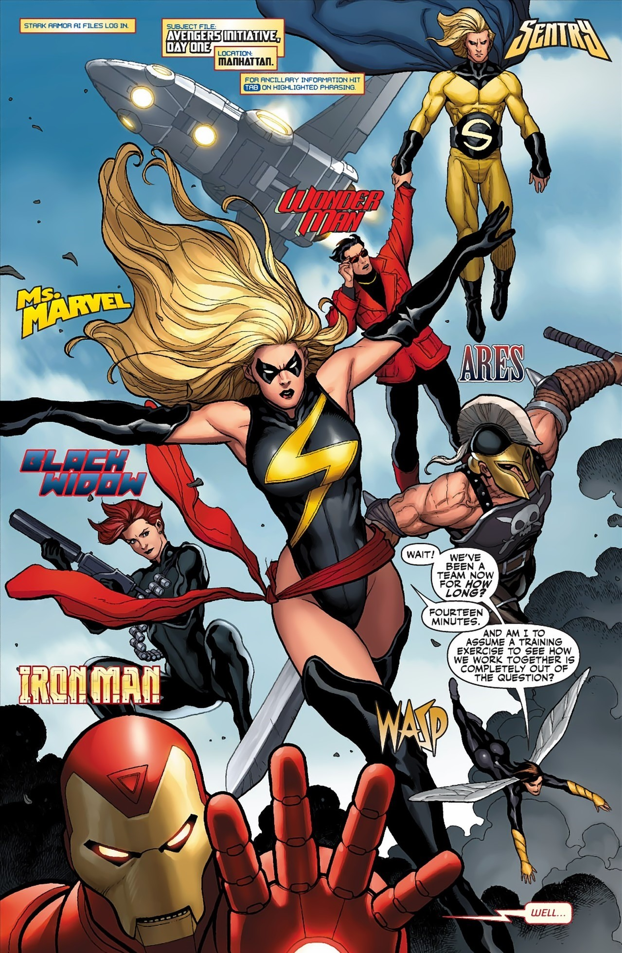 Mighty Avengers (Initiative) (Earth-616)/Gallery