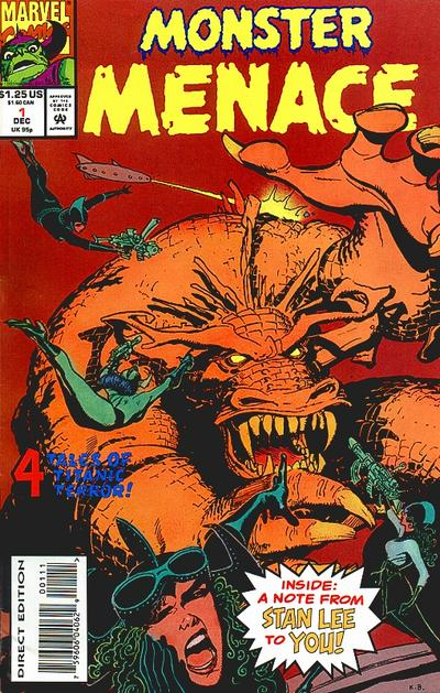 Monster Menace Vol 1