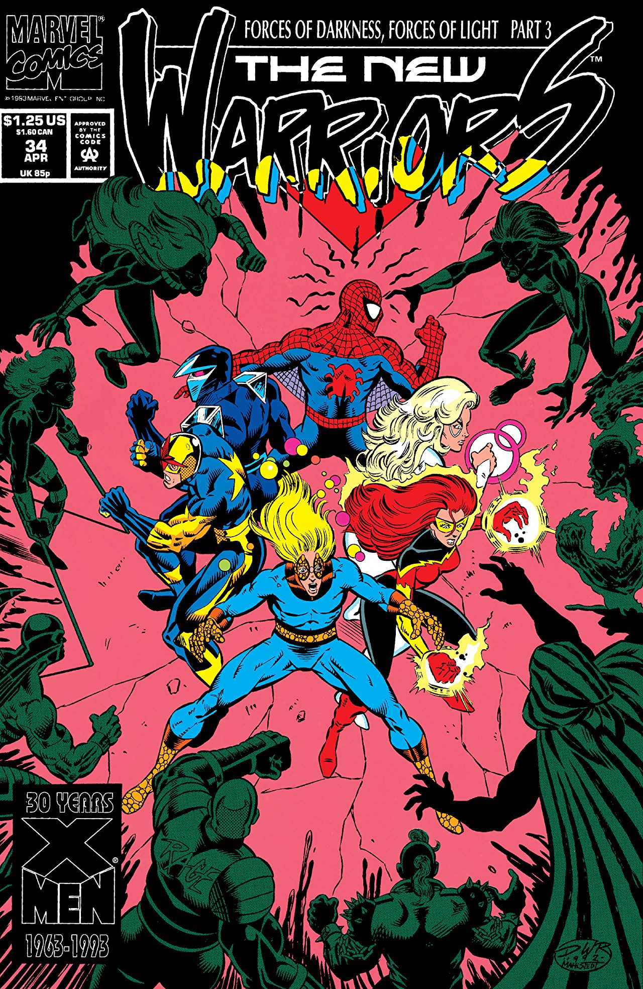 New Warriors Vol 1 34