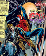 Peter Parker (Earth-616) and Ben Reilly (Earth-616) from Amazing Spider-Man Vol 1 410 0001